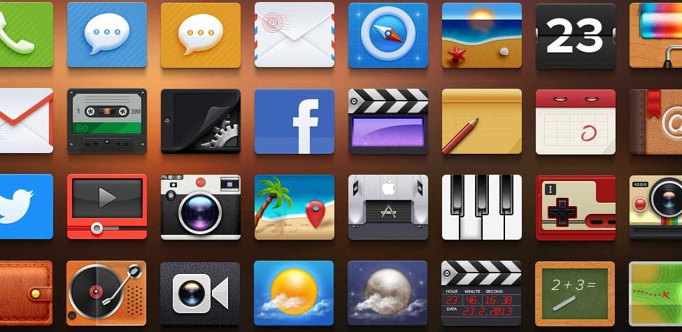 140+ Best Free Flat Icon Sets For Designers