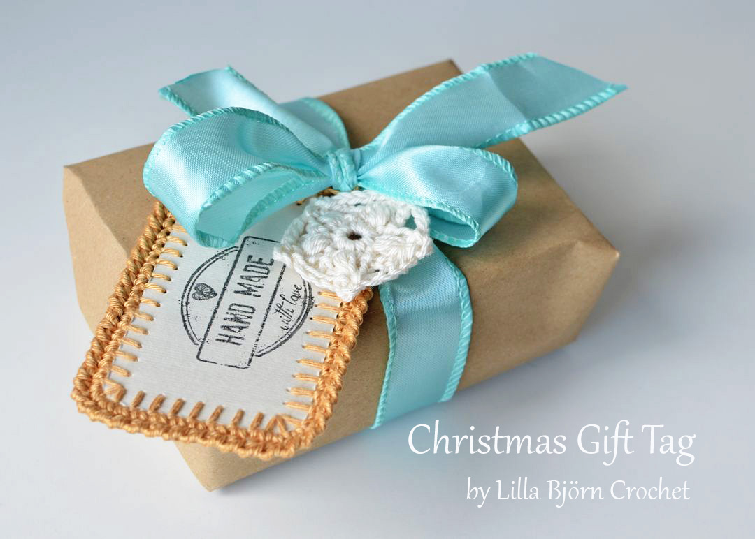 Christmas Gift Tag and Star Ornament - free pattern | LillaBjörn\'s ...