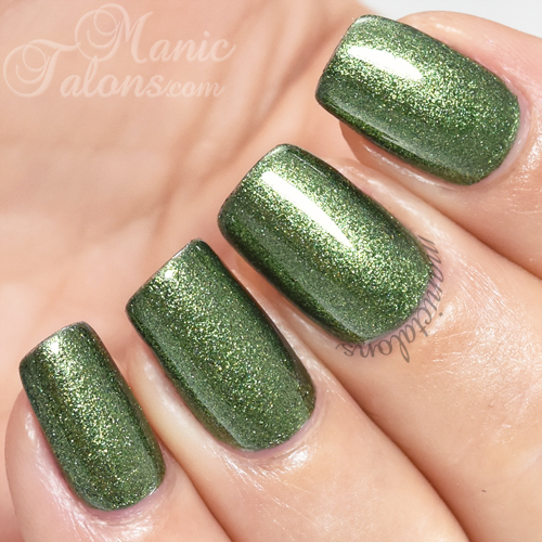 Madam Glam Gel Polish Shake Your Grass Swatch