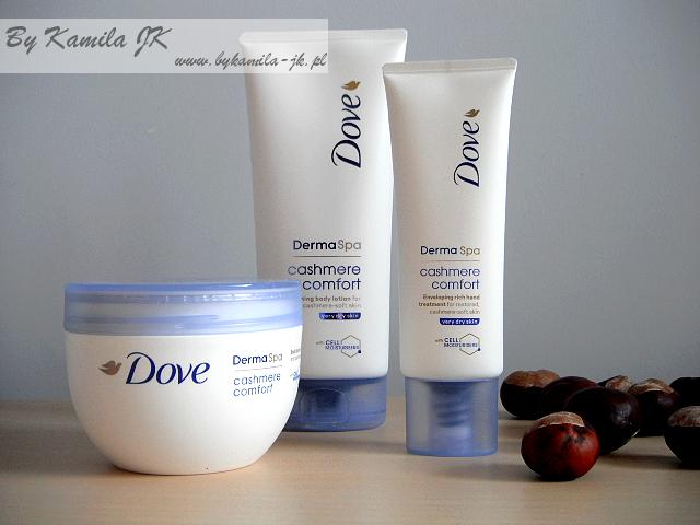 Dove Derma Spa Cashmere Comfort krem do rąk balsam masło do ciała