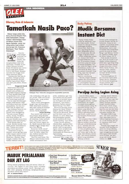 PACO DILARANG MAIN DI INDONESIA