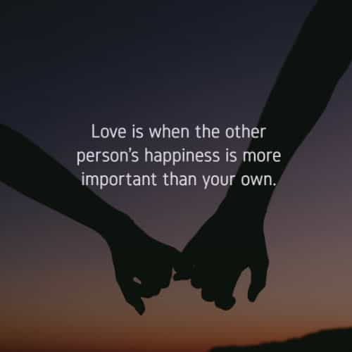 Romantic short love quotes with images