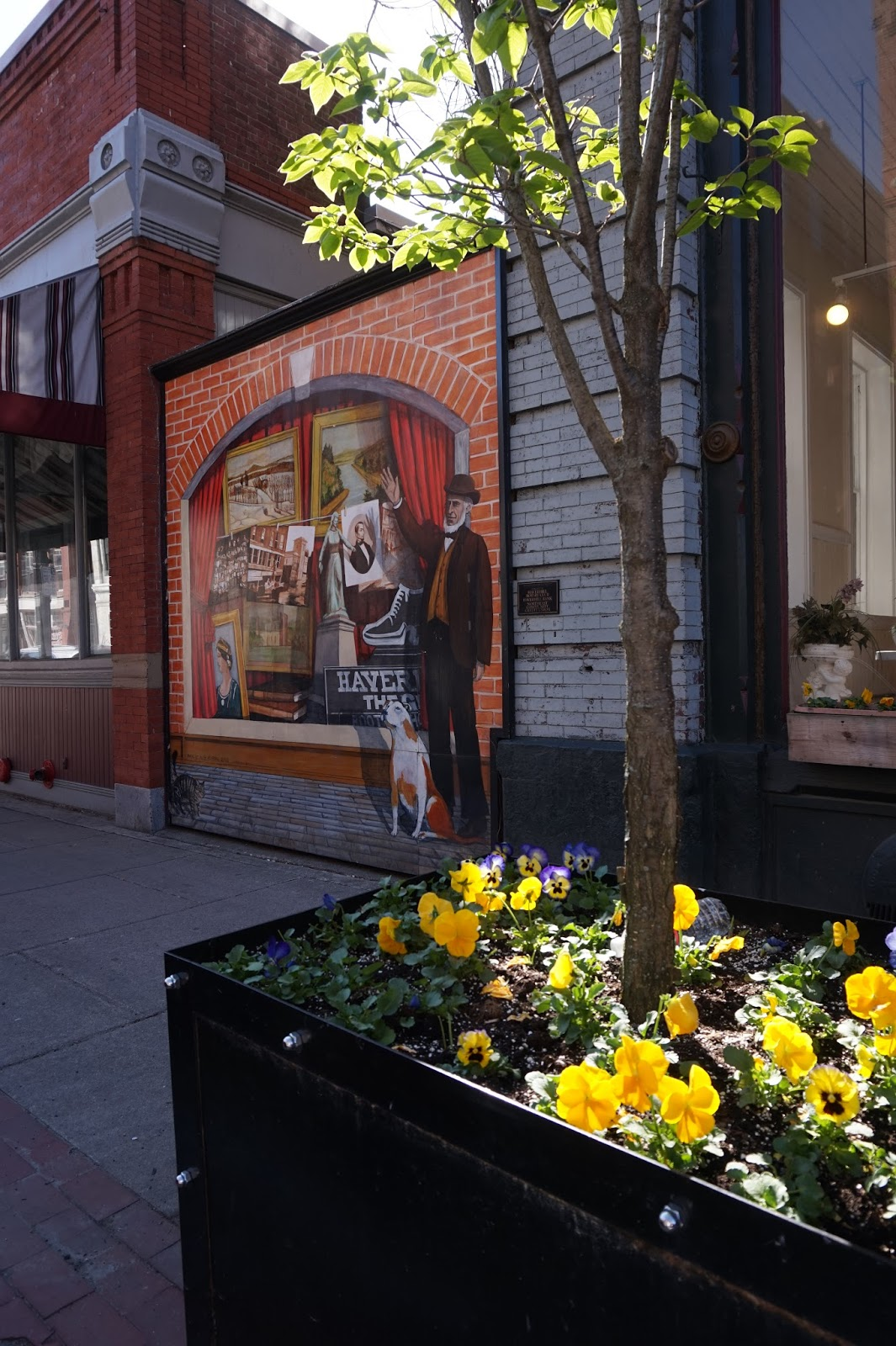 Miss Val S Creations Marvelous Trees: Miss Val's Creations: Springtime Downtown