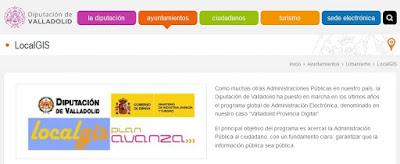 http://www.diputaciondevalladolid.es/ayuntamientos/aytos-urbanismo/localgis/