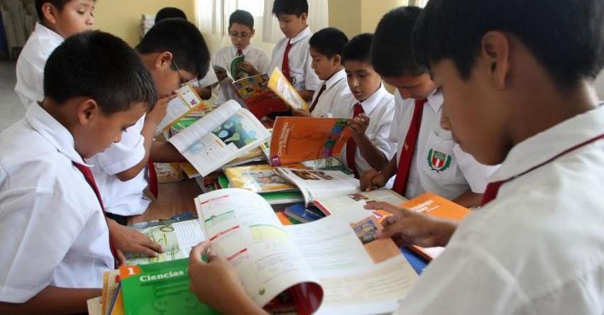 MINEDU distribuye 20 millones de unidades de material educativo en todo el país - www.minedu.gob.pe