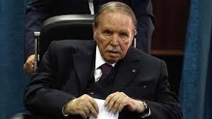 Photo of Algerian President Abdelaziz Bouteflika