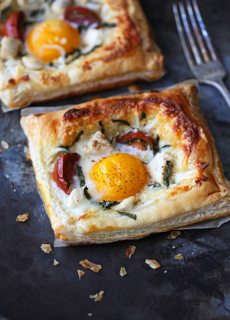Chicken and Egg Breakfast Tart - Beyond Sweet and Savory