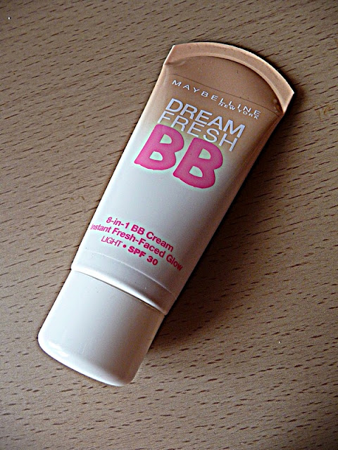 krem bb, maybelline, Dream Fresh BB, krem 8w1