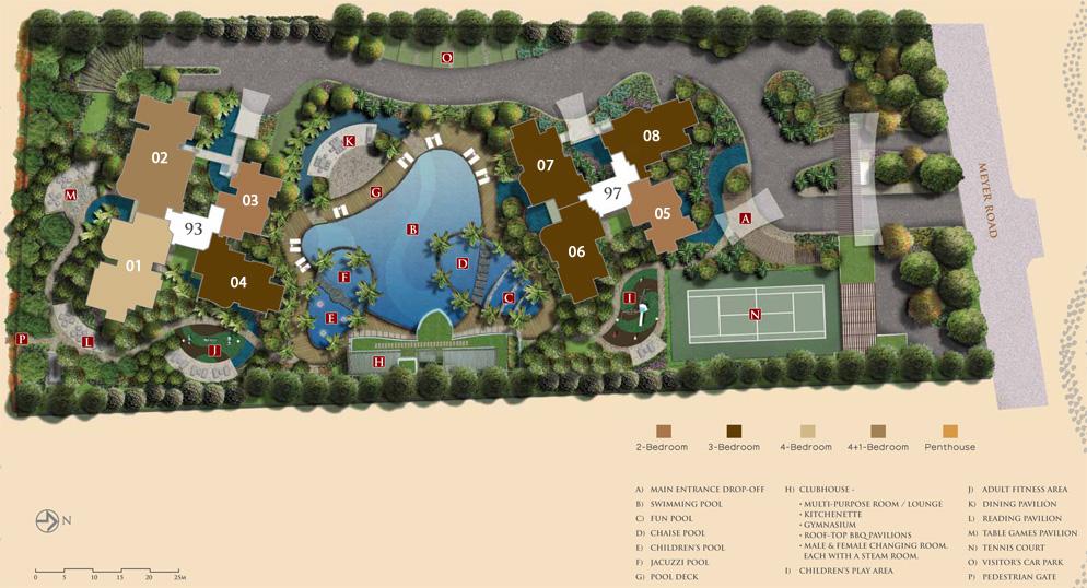 The Meyerise Site Plan