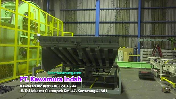 Lowongan Kerja Drafter PT. Kawamura Indah Karawang