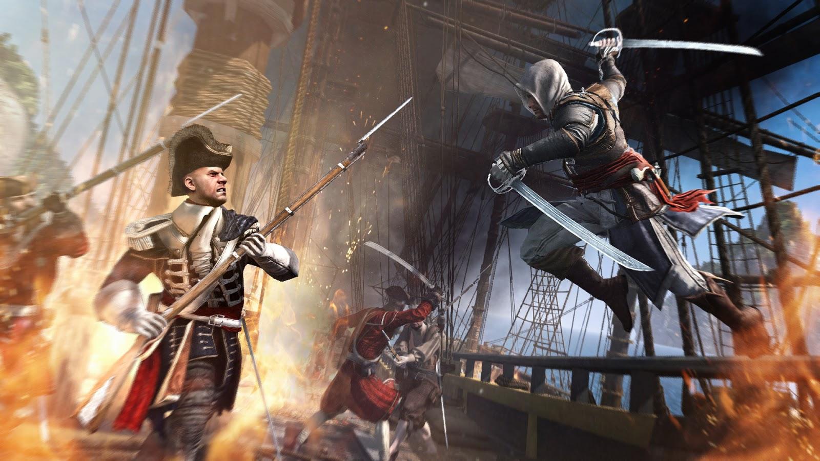 Free Game 4u Assassin S Creed Iv Black Flag File Size 5 30gb