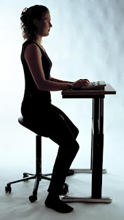 right sitting posture - for the first timer