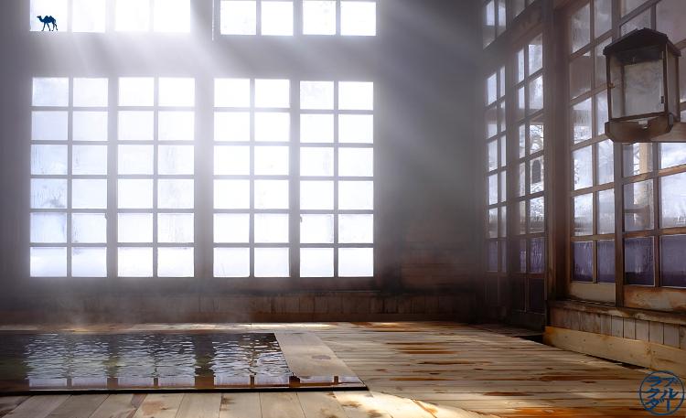 Le Chameau Bleu - Voyage au Nord du Japon - Tohoku - Aoni Onsen