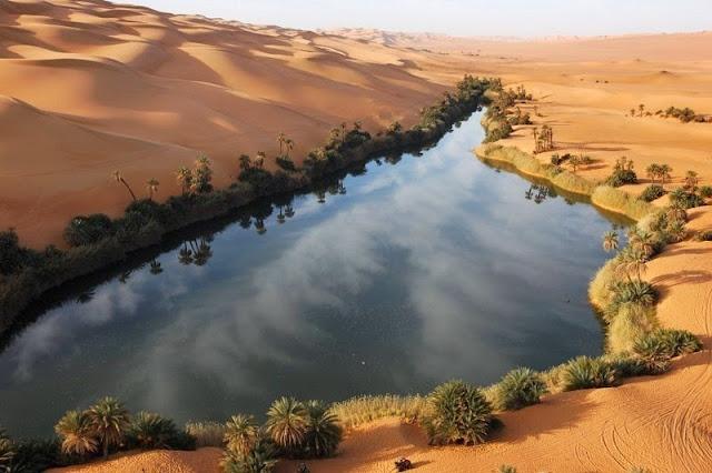 Oasi Deserto Sahara