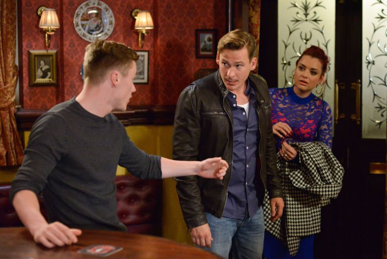 EastEnders fight
