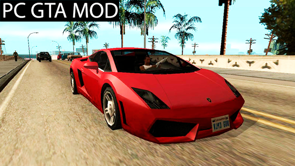 Free Download Lamborghini Gallardo - SA Style- TCGTABR Mod for GTA San Andreas.