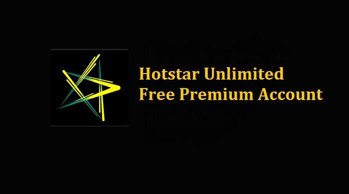 Hotstar Premium Account login Email for free - F Webmedia
