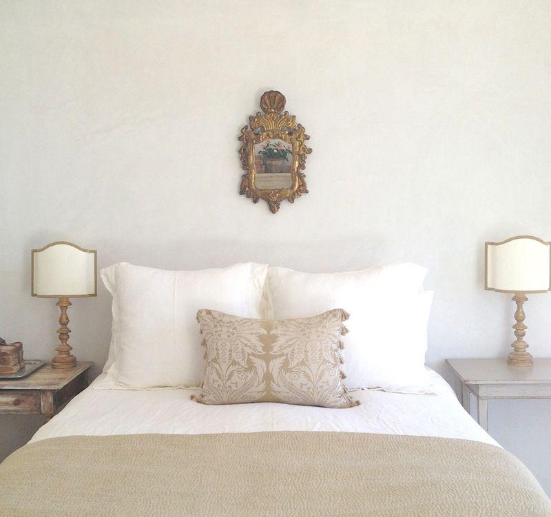 Romantic farmhouse master bedroom Patina Farm