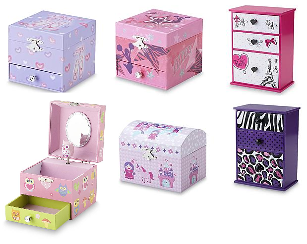 b276c32321fd Kids' Jewelry Boxes $1.99 + Free Store Pickup At KMart. Really cute for the  girls. Clearance items, will not be available at all KMart locations, ...