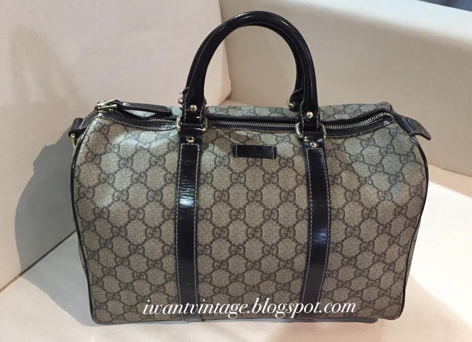 Gucci Joy Original Gg Boston Bag