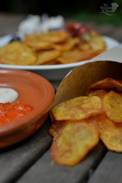 Patatas fritas aliñadas tererecetas 02