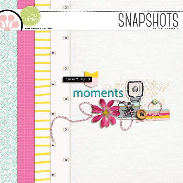 SNAPSHOTS BLOGHOP | FREE DOWNLOAD