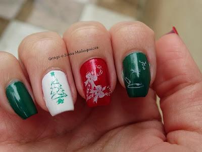 Data Comemorativa: Unhas Inspiradas no Natal