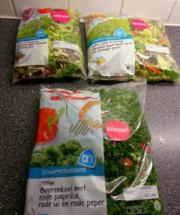 groente saus zakje