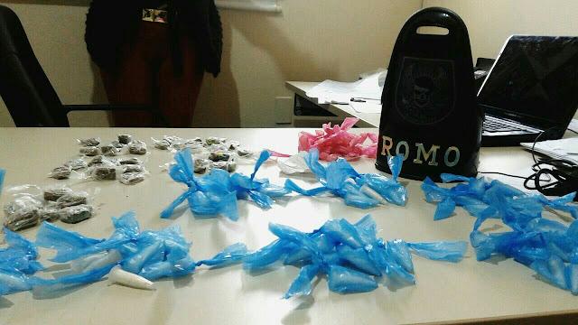 ROMO da GCM de Santo André aprende menores por tráfico de drogas na Vila Palmares