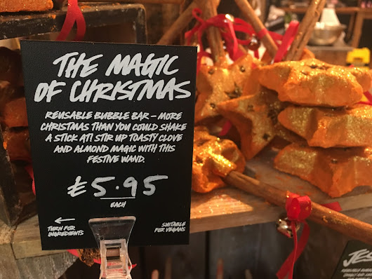 THE LUSH CHRISTMAS 2016 COLLECTION: A LOOK IN-STORE