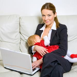 Trabalhos que as mães podem facilmente fazer direto de casa