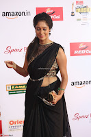 Sindhu looks fabulous in Black Saree designer choli at Mirchi Music Awards South 2017 ~  Exclusive Celebrities Galleries 063.JPG