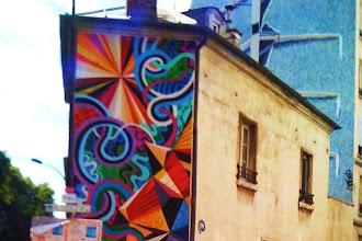 Sunday Street Art : Matt W. Moore alias MWM et ICH - quai de Valmy - Paris 10