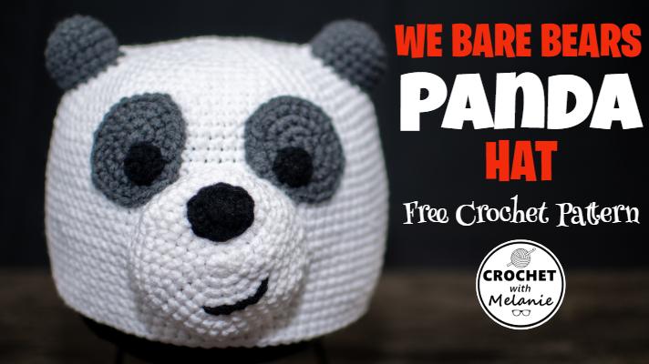 Panda Baby Hat Free Crochet Pattern - Cool Creativities | 400x712
