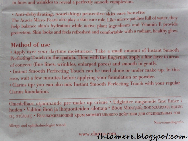 Instant Smooth Perfecting Touch by Clarins #22