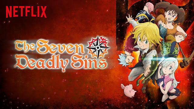 Anime sobre os 7 pecados capitais