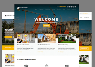 Construction тема WordPress