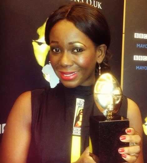 Ama K. Abebrese wins Best Actress award