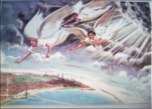 Hasil gambar untuk gambar tiga malaikat