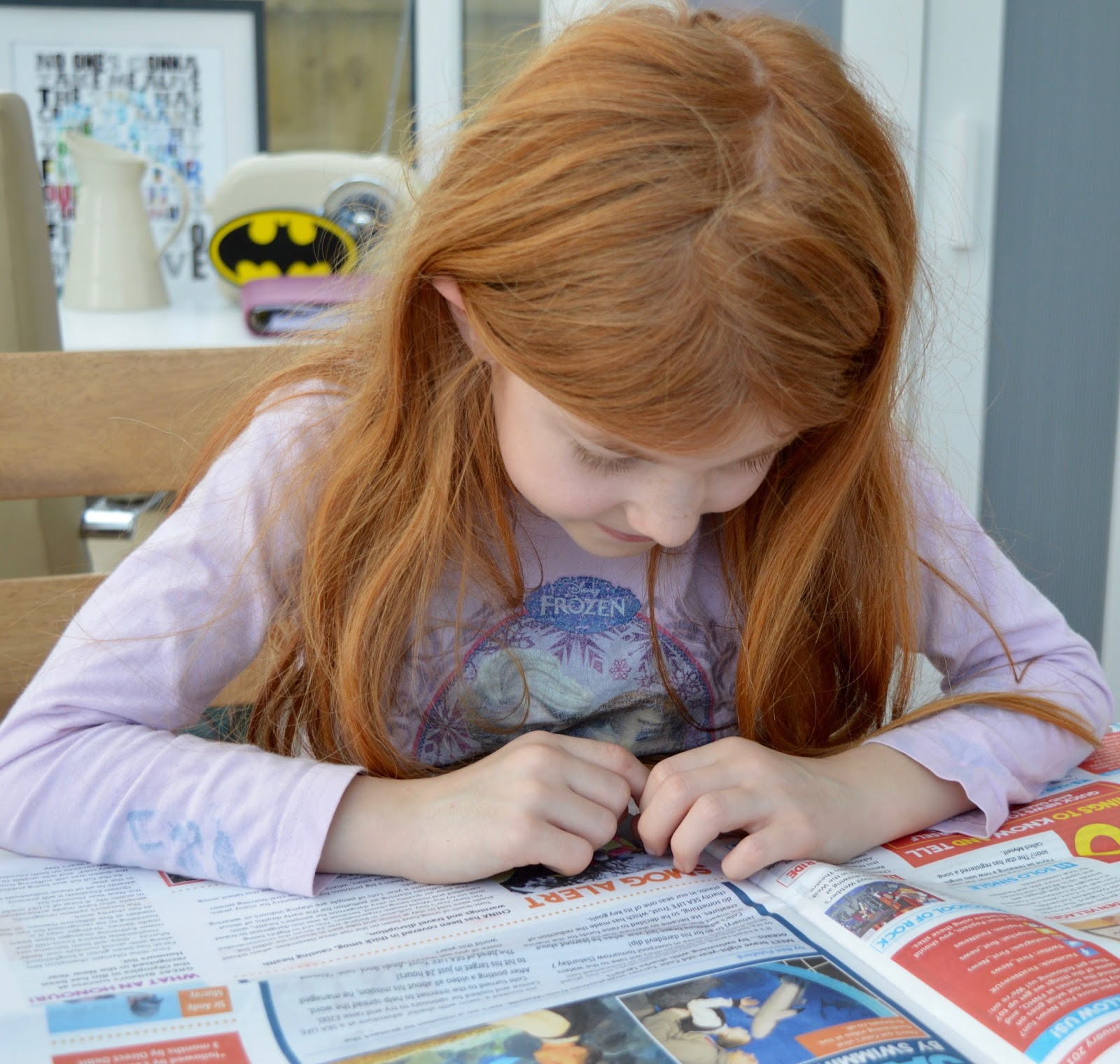 First News Newspaper features and review. A fantastic resource to encourage discussion for children and young people aged 7- 14 years. Plus a special trial offer for our readers.  - Heidi reading Quick News