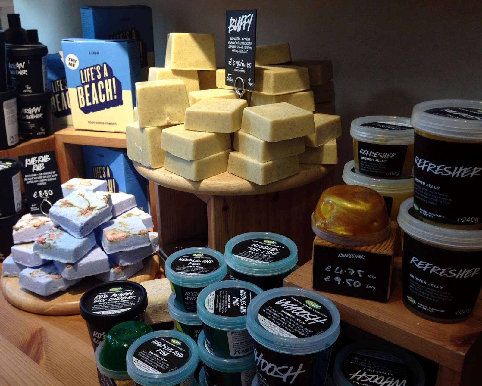 Lush New Products 2015