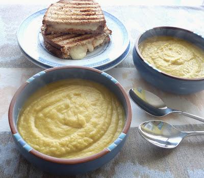 Leek & Celeriac Soup