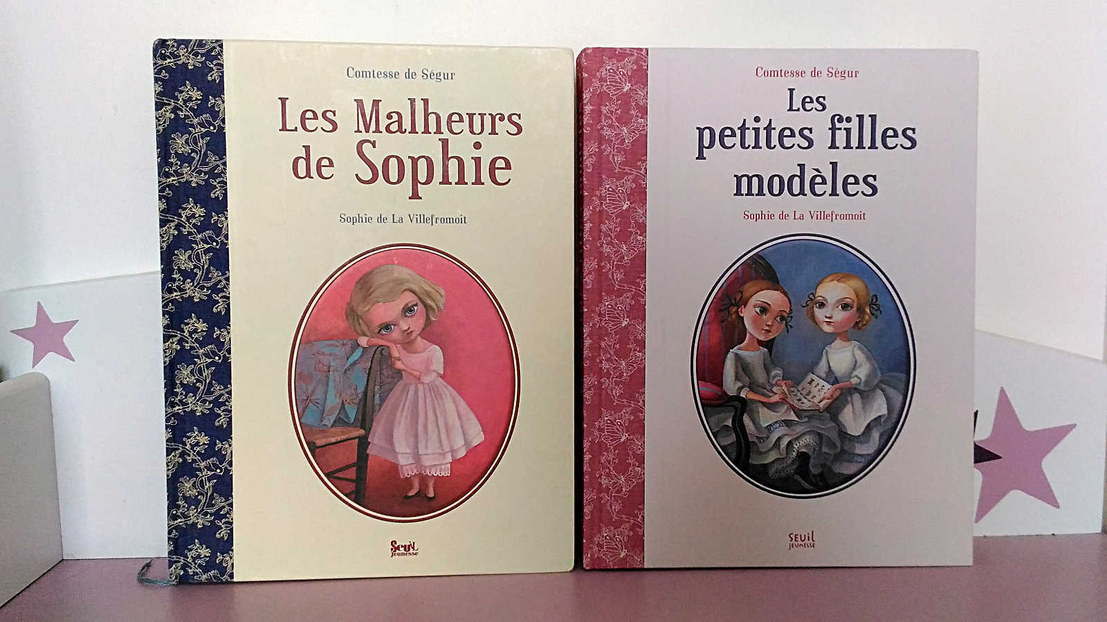 Les Malheurs de Sophie Les petites filles modèles Comtesse de Ségur Seuil Jeunesse