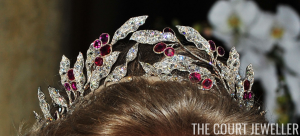 Bejeweled Bequests The Ruby Olive Wreath Tiara The Court Jeweller Made with ♥ love and care♥ in england. the ruby olive wreath tiara