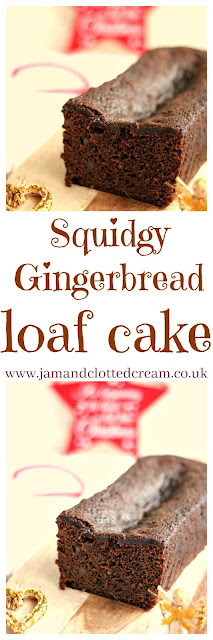 Squidgy Gingerbread Loaf