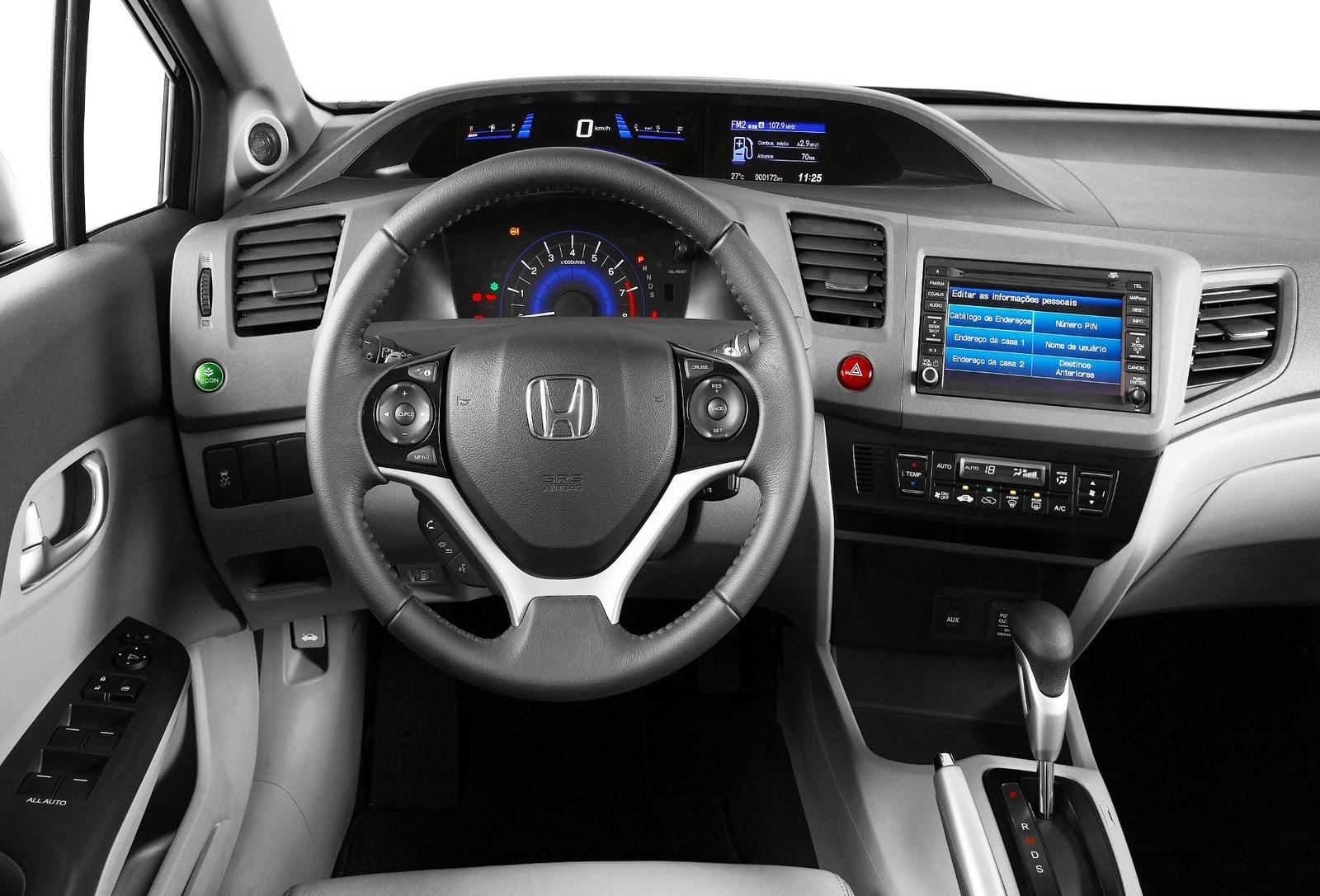 Consumo Do Honda Civic Exs 2012 Com Fun 231 227 O Econ Ativa Decepciona Car Blog Br