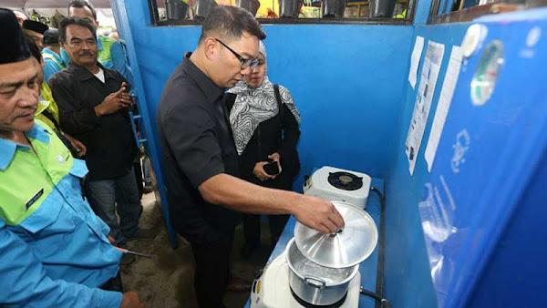 Ridwan Kamil Resmikan TPST Tegallega