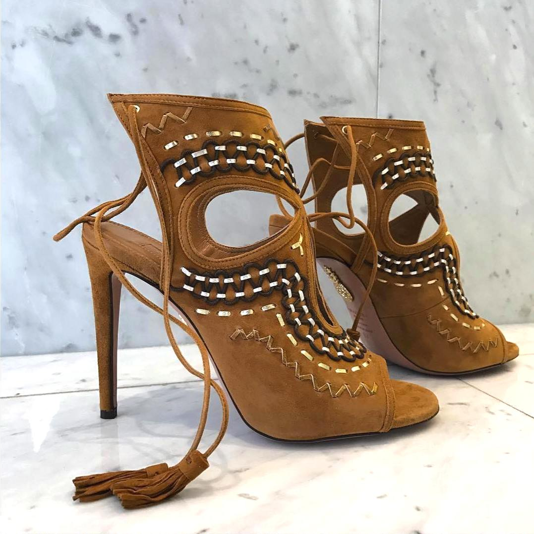 Aquazzura Folk Sandals