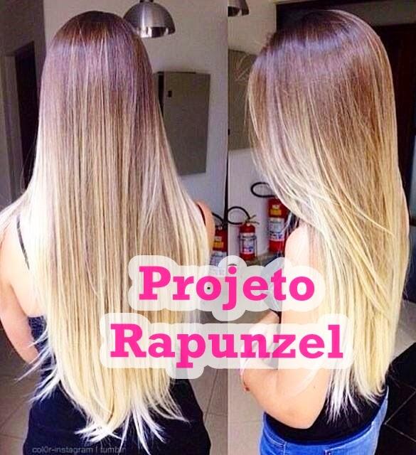 Como Fazer o Cabelo Crescer Mais Rápido #projetorapunzel