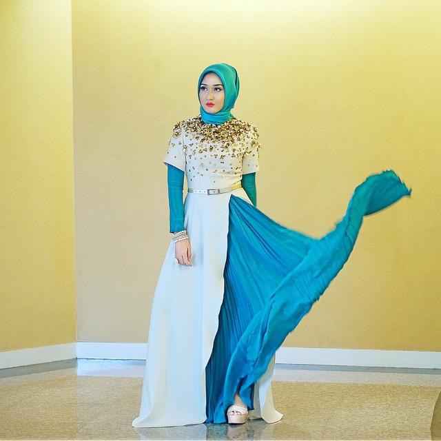 Inspirasi Dress Muslimah Modern Terbaru Grosirkebaya Net